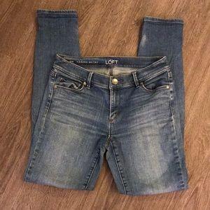 Ann Taylor Loft Sz 27/4 Modern skinny jeans